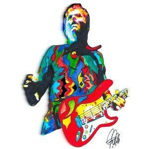 Billy Corgan The Smashing Pumpkins Rock Poster
